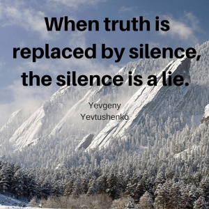 Truth replaced by silence